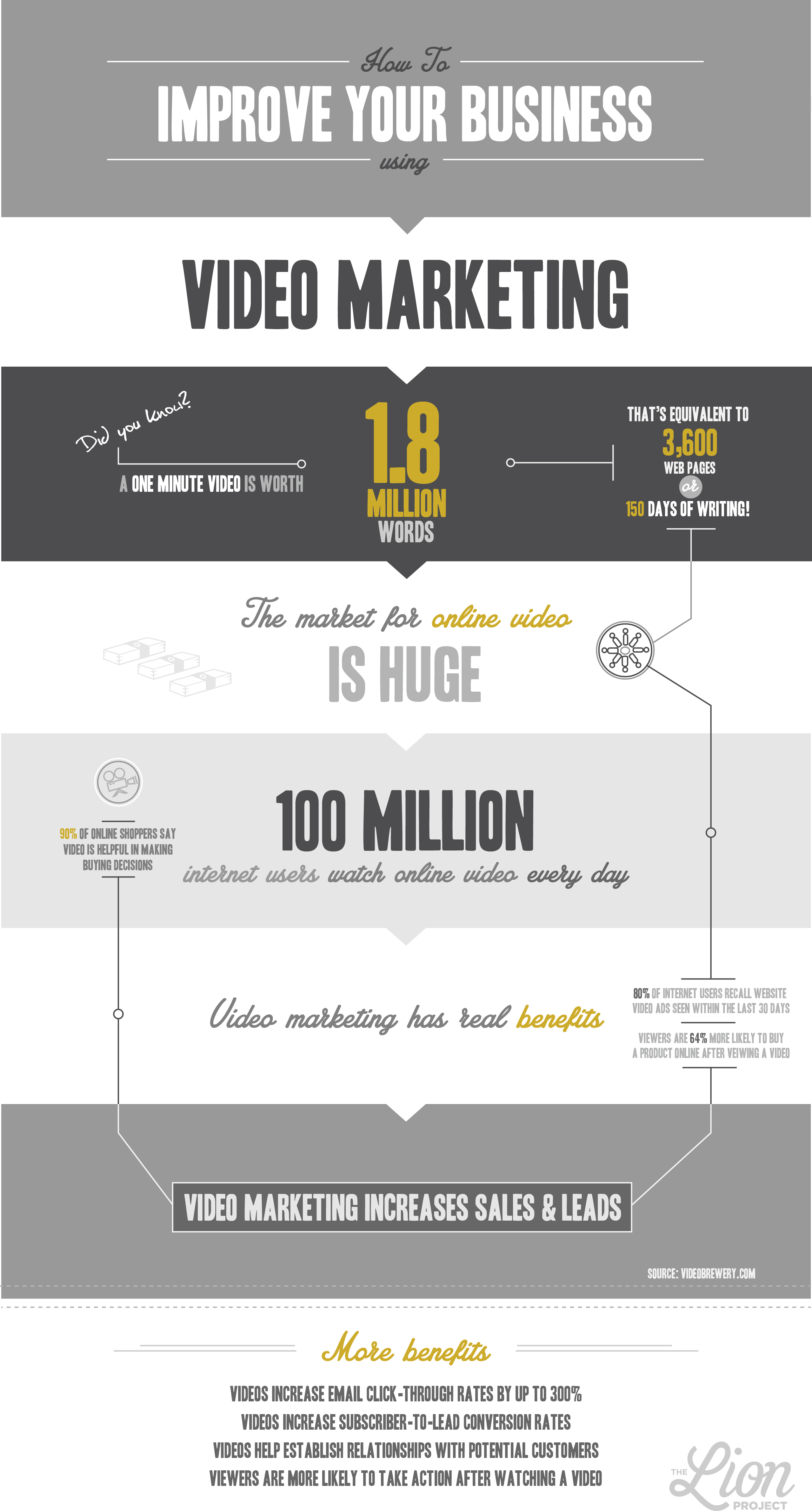 Video Marketing Infographic Blog Post
